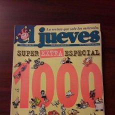 Coleccionismo de Revista El Jueves: JUEVES Nº 1000-AÑO XX-DEL 24 AL 30 DE JULIO 1996-SUPER EXTRA ESPECIAL. Lote 68245077