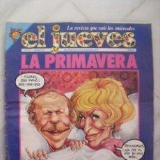 Coleccionismo de Revista El Jueves: EL JUEVES. LA PRIMAVERA LA SANGRE ALTERA. AÑO III. Nº 96. MARZO - ABRIL 1979.. Lote 68771993