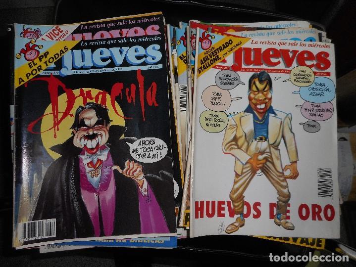 LOTE 30 REVISTA JUEVES AÑOS 90 (Coleccionismo - Revistas y Periódicos Modernos (a partir de 1.940) - Revista El Jueves)
