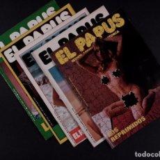 Coleccionismo de Revista El Jueves: REVISTAS EL PAPUS 1975, LOTE 5 EJEMPLARES. Lote 72098103