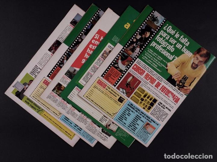 Coleccionismo de Revista El Jueves: REVISTAS EL PAPUS 1975, LOTE 5 EJEMPLARES - Foto 2 - 72098103