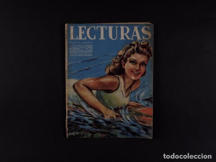 LECTURAS Nº202, 1941 (Coleccionismo - Revistas y Periódicos Modernos (a partir de 1.940) - Revista El Jueves)