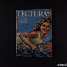 Coleccionismo de Revista El Jueves: LECTURAS Nº202, 1941. Lote 72098283