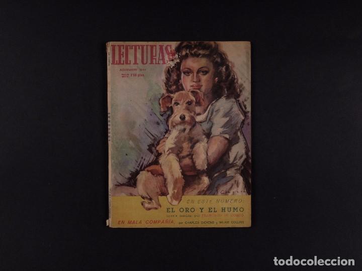 REVISTA LECTURAS Nº241, 1944 (Coleccionismo - Revistas y Periódicos Modernos (a partir de 1.940) - Revista El Jueves)