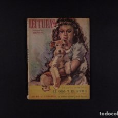 Coleccionismo de Revista El Jueves: REVISTA LECTURAS Nº241, 1944. Lote 72098751
