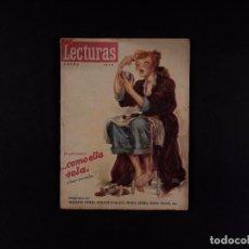 Coleccionismo de Revista El Jueves: REVISTA LECTURAS Nº279, 1948. Lote 72099083