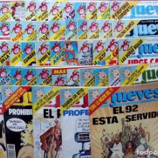 Coleccionismo de Revista El Jueves: REVISTA EL JUEVES. AÑO 1992. LOTE 23 NÚMEROS ENTRE 763 Y 812 - CON REGALOS. Lote 79272197