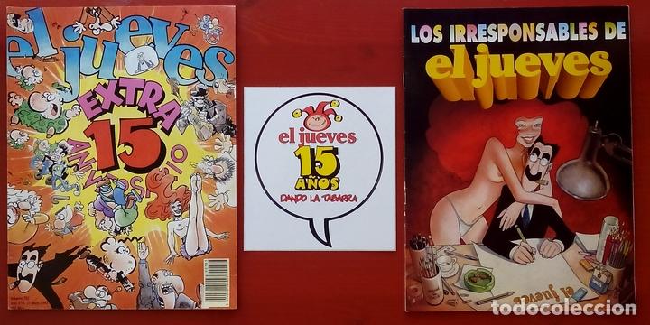 Coleccionismo de Revista El Jueves: REVISTA EL JUEVES. Año 1992. Lote 23 números entre 763 y 812 - Con regalos - Foto 4 - 79272197