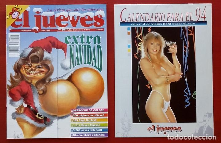Coleccionismo de Revista El Jueves: REVISTA EL JUEVES. Año 1993. Lote 18 números entre 815 y 864 - Foto 2 - 79272370