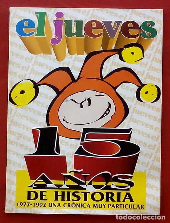 Coleccionismo de Revista El Jueves: REVISTA EL JUEVES. Año 1993. Lote 18 números entre 815 y 864 - Foto 4 - 79272370