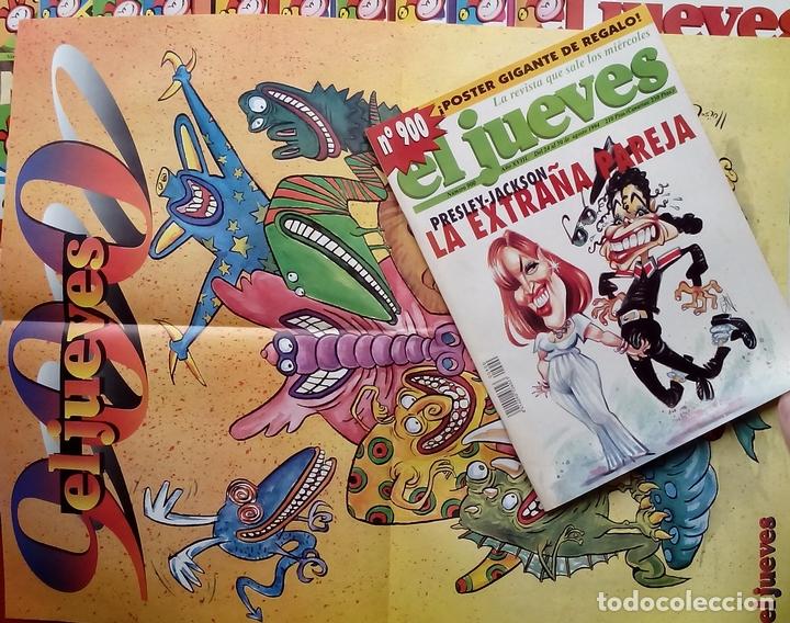 Coleccionismo de Revista El Jueves: REVISTA EL JUEVES. AÑO 1994 y 1995. Lote 23 núms entre 869 y 916 + 4 revistas especiales + regalos - Foto 2 - 79272515