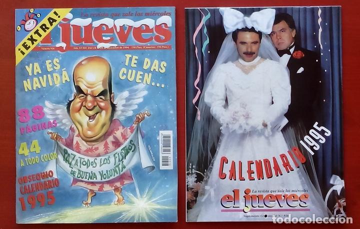Coleccionismo de Revista El Jueves: REVISTA EL JUEVES. AÑO 1994 y 1995. Lote 23 núms entre 869 y 916 + 4 revistas especiales + regalos - Foto 6 - 79272515