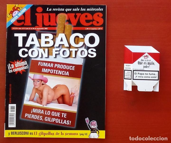 Coleccionismo de Revista El Jueves: REVISTA EL JUEVES. Año 2003. Lote 19 números entre 1337 y 1387 - Con regalos - Foto 3 - 79274486