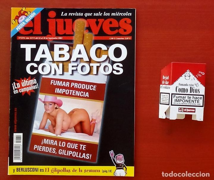 Coleccionismo de Revista El Jueves: REVISTA EL JUEVES. Año 2003. Lote 19 números entre 1337 y 1387 - Con regalos - Foto 4 - 79274486
