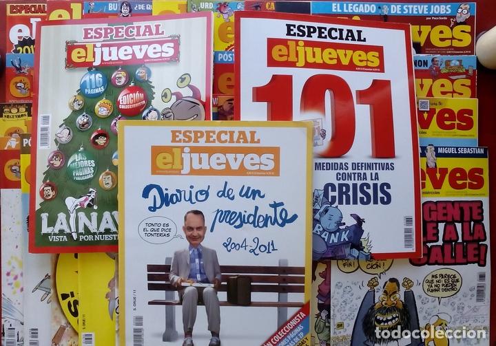 Coleccionismo de Revista El Jueves: REVISTA EL JUEVES. Año 2011. Lote 16 números entre 1758 y 1805 + 2 tomos - Foto 4 - 79275751