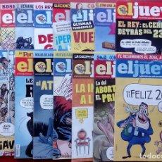 Coleccionismo de Revista El Jueves: REVISTA EL JUEVES. AÑO 2014. LOTE 16 NÚMEROS ENTRE 1910 Y 1945 (TAMBIÉN SUELTOS). Lote 96039130