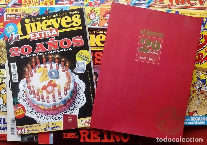 Coleccionismo de Revista El Jueves: REVISTA EL JUEVES. Año 1997. Lote 45 números entre 1024 y 1074 - Con regalos - Foto 4 - 79273299