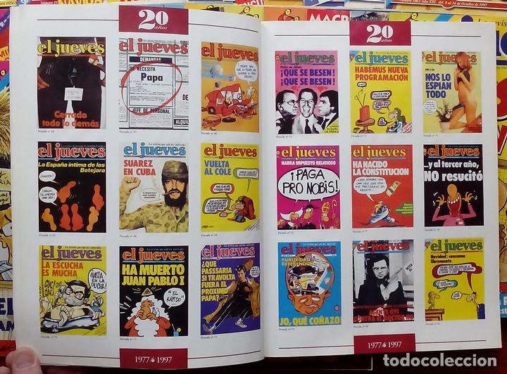 Coleccionismo de Revista El Jueves: REVISTA EL JUEVES. Año 1997. Lote 45 números entre 1024 y 1074 - Con regalos - Foto 5 - 79273299