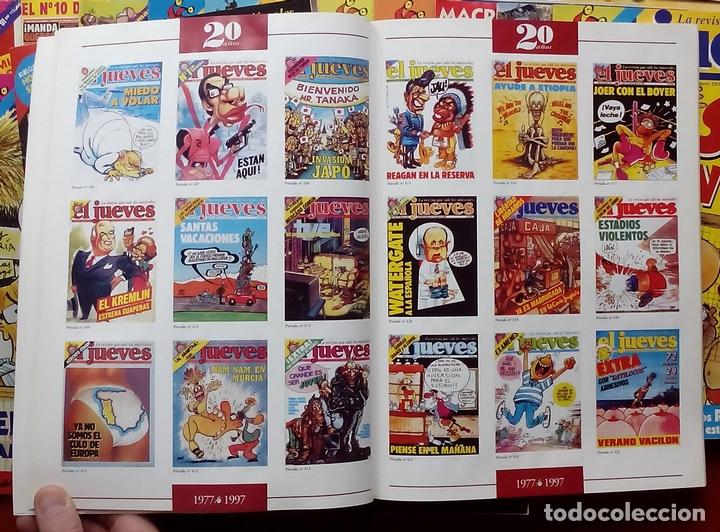 Coleccionismo de Revista El Jueves: REVISTA EL JUEVES. Año 1997. Lote 45 números entre 1024 y 1074 - Con regalos - Foto 6 - 79273299
