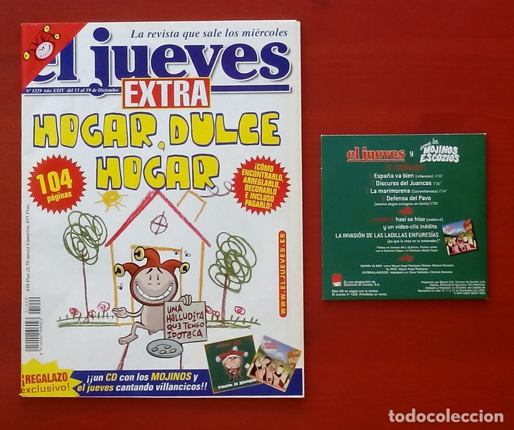 Coleccionismo de Revista El Jueves: REVISTA EL JUEVES. Año 2000. Lote 31 números entre 1180 y 1231- Con regalos - Foto 3 - 79273871