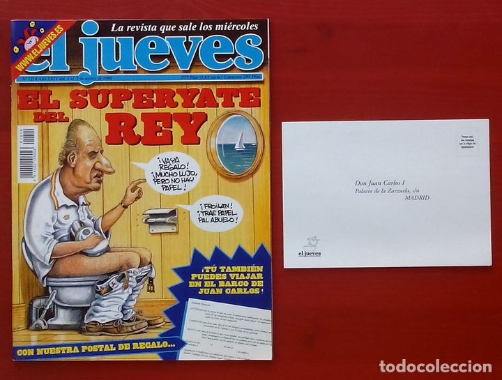 Coleccionismo de Revista El Jueves: REVISTA EL JUEVES. Año 2000. Lote 31 números entre 1180 y 1231- Con regalos - Foto 4 - 79273871