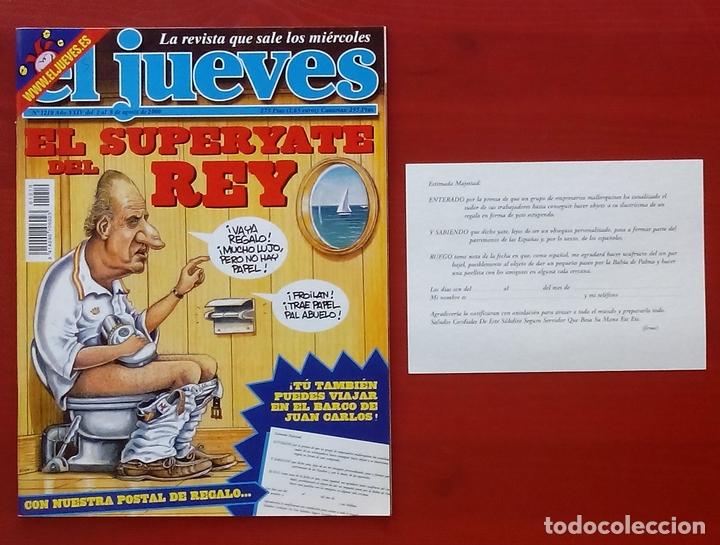 Coleccionismo de Revista El Jueves: REVISTA EL JUEVES. Año 2000. Lote 31 números entre 1180 y 1231- Con regalos - Foto 5 - 79273871