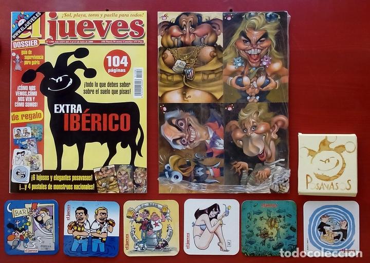 Coleccionismo de Revista El Jueves: REVISTA EL JUEVES. Año 2000. Lote 31 números entre 1180 y 1231- Con regalos - Foto 6 - 79273871