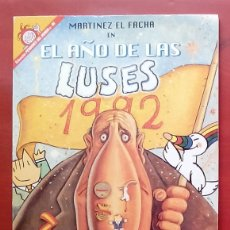 Coleccionismo de Revista El Jueves: COLECCIÓN PENDONES DEL HUMOR 96 - MARTÍNEZ EL FACHA. EL AÑO DE LAS LUSES 1992 DE KIM. Lote 79814058
