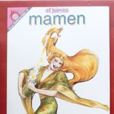 Coleccionismo de Revista El Jueves: COLECCIÓN PENDONES DEL HUMOR 98 - MAMEN DE MARIEL Y MANEL BARCELÓ. Lote 79814103