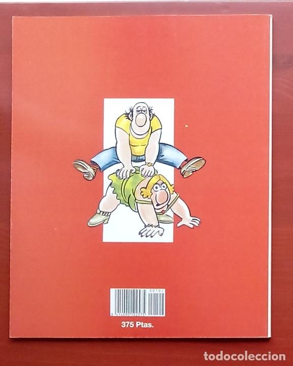 Coleccionismo de Revista El Jueves: COLECCIÓN PENDONES DEL HUMOR 102 - EL MANOLO Y LA IRENE de MANEL - Foto 2 - 79814193