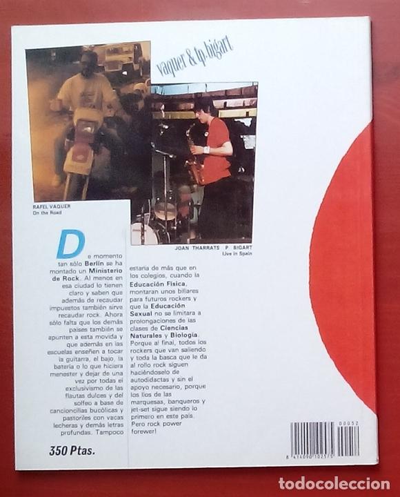 Coleccionismo de Revista El Jueves: COLECCIÓN PENDONES DEL HUMOR 52 - JOHNNY ROQUETA de VAQUER y T. P. BIGART - Foto 2 - 79873797