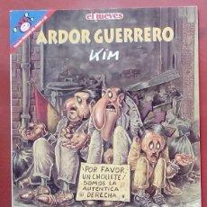 Coleccionismo de Revista El Jueves: COLECCIÓN PENDONES DEL HUMOR 130 - ARDOR GUERRERO DE KIM. Lote 79874173