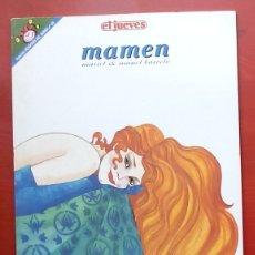 Coleccionismo de Revista El Jueves: COLECCIÓN PENDONES DEL HUMOR 126 - MAMEN DE MARIEL Y MANEL BARCELÓ. Lote 79895207