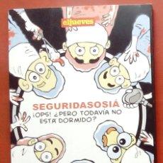 Coleccionismo de Revista El Jueves: MINILIBROS. EL JUEVES 7 - ¡OPS! ¿PERO TODAVÍA NO ESTÁ DORMIDO? DE MAIKEL. Lote 79922381