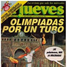 Colecionismo da Revista El Jueves: EL JUEVES Nº 793 - 1992. Lote 80505805