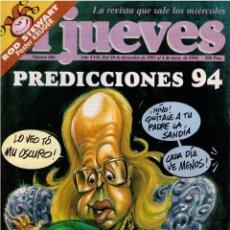 Coleccionismo de Revista El Jueves: EL JUEVES Nº 866 - 1994. Lote 81763796