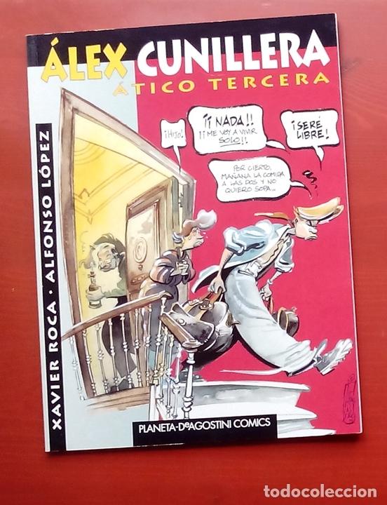 Coleccionismo de Revista El Jueves: 2 tomos de ALFONSO y XAVIER ROCA - ÁLEX CUNILLERA y ORGASMOS COTIDIANOS (PENDONES núm 77) - Foto 2 - 82013483