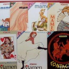 Coleccionismo de Revista El Jueves: LOTE DE 7 TOMOS- MAMEN DE MARIEL Y MANEL BARCELÓ Y CONTACTOS - PENDONES 10, 61,68,80,98,109 Y 126 . Lote 82021815