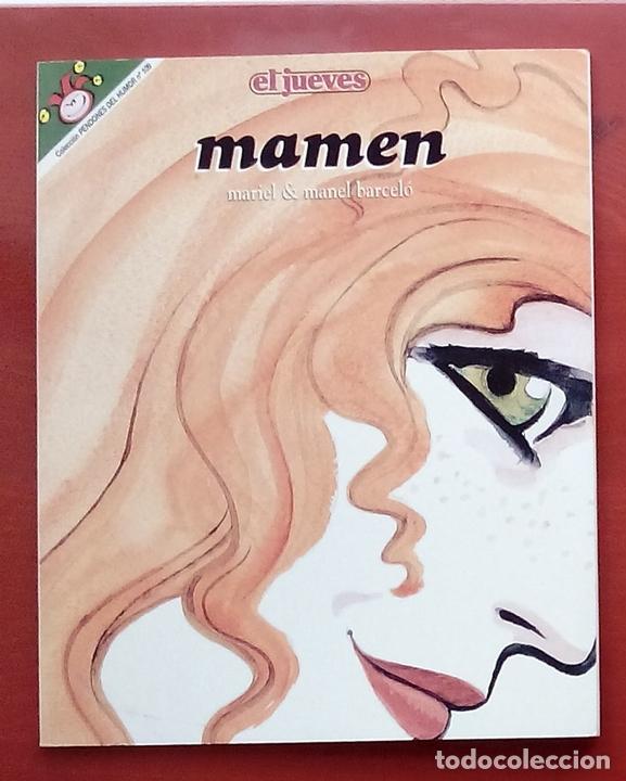 Coleccionismo de Revista El Jueves: Lote de 7 tomos- MAMEN de MARIEL y MANEL BARCELÓ y CONTACTOS - PENDONES 10, 61,68,80,98,109 y 126 - Foto 4 - 82021815