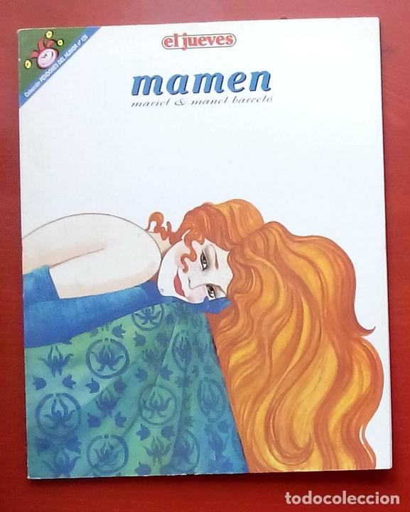 Coleccionismo de Revista El Jueves: Lote de 7 tomos- MAMEN de MARIEL y MANEL BARCELÓ y CONTACTOS - PENDONES 10, 61,68,80,98,109 y 126 - Foto 6 - 82021815