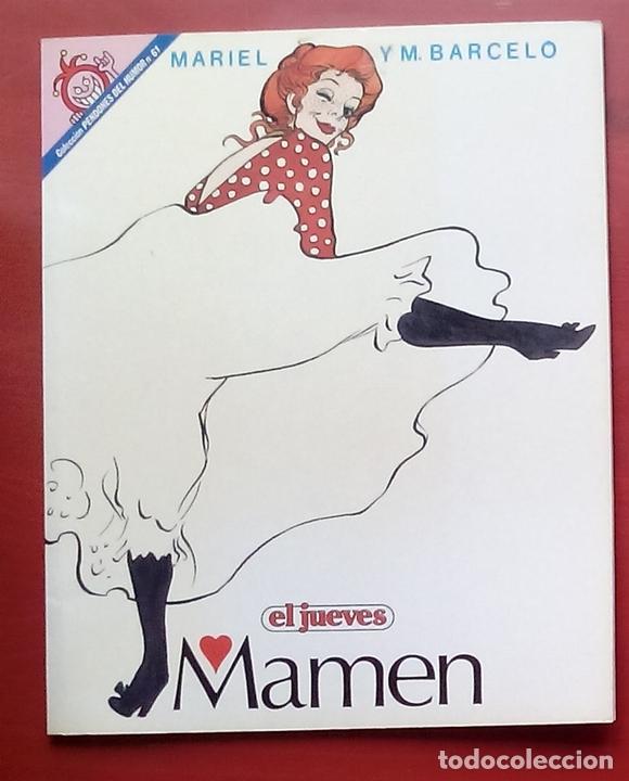 Coleccionismo de Revista El Jueves: Lote de 7 tomos- MAMEN de MARIEL y MANEL BARCELÓ y CONTACTOS - PENDONES 10, 61,68,80,98,109 y 126 - Foto 8 - 82021815