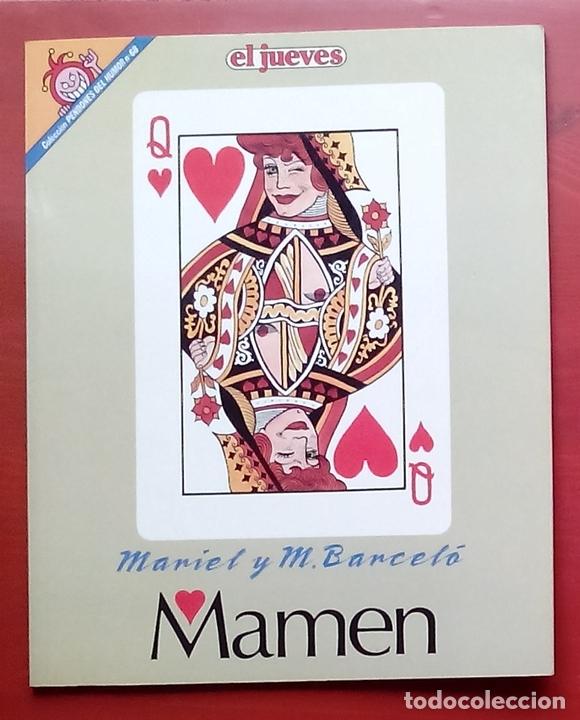 Coleccionismo de Revista El Jueves: Lote de 7 tomos- MAMEN de MARIEL y MANEL BARCELÓ y CONTACTOS - PENDONES 10, 61,68,80,98,109 y 126 - Foto 10 - 82021815