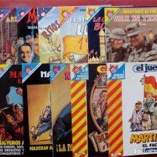 Coleccionismo de Revista El Jueves: 9 TOMOS- MARTÍNEZ EL FACHA DE KIM - PENDONES DEL HUMOR 1,18,25,60,72,84,96,119 Y130. Lote 82033070