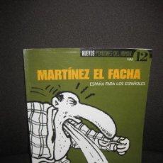 Coleccionismo de Revista El Jueves: MARTINEZ EL FACHA. NUEVOS PENDONES DEL HUMOR 12. EL JUEVES 2001... Lote 82763512