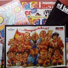 Coleccionismo de Revista El Jueves: REVISTA EL JUEVES. AÑO 2004. LOTE 26 NÚMEROS ENTRE 1388 Y 1428 - CON REGALOS. Lote 79274547