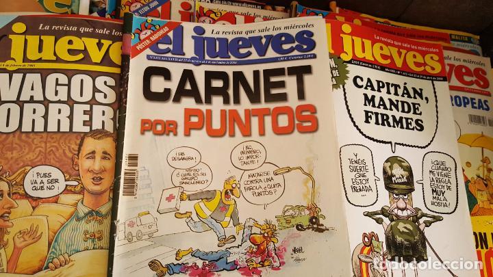 LOTE DE 40 REVISTAS EL JUEVES. DÉCADA DEL 2000-2010 APROXIMADAMETE (Coleccionismo - Revistas y Periódicos Modernos (a partir de 1.940) - Revista El Jueves)