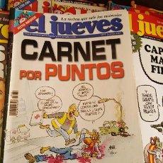 Coleccionismo de Revista El Jueves: LOTE DE 40 REVISTAS EL JUEVES. DÉCADA DEL 2000-2010 APROXIMADAMETE. Lote 85914112