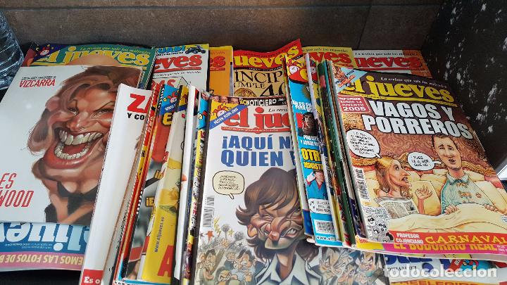 Coleccionismo de Revista El Jueves: LOTE DE 40 REVISTAS EL JUEVES. Década del 2000-2010 aproximadamete - Foto 2 - 85914112