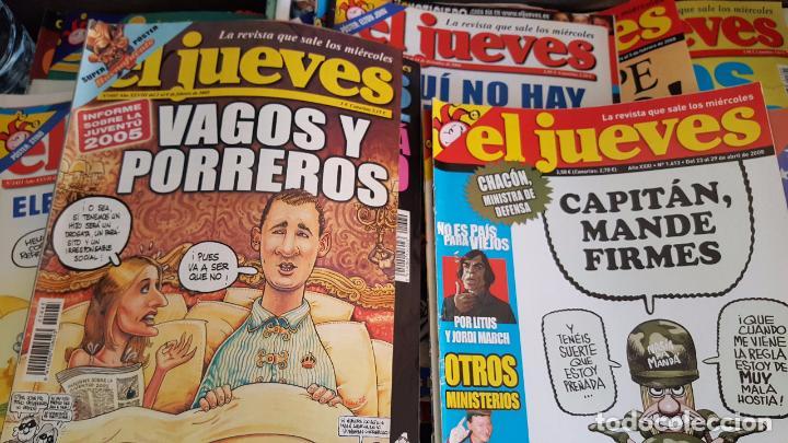 Coleccionismo de Revista El Jueves: LOTE DE 40 REVISTAS EL JUEVES. Década del 2000-2010 aproximadamete - Foto 3 - 85914112