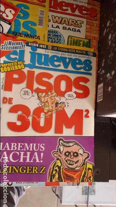 Coleccionismo de Revista El Jueves: LOTE DE 40 REVISTAS EL JUEVES. Década del 2000-2010 aproximadamete - Foto 4 - 85914112